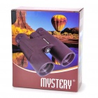 Mystery 8 x 42 Binocular with Carrying Bag + Strap - Black
