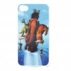 Protective PC Back Case with 3D Graphic for iPhone 4 - Ice Age