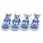 Cute Walking Shoes for Pets/Dogs - Color Assorted (Size 4#/2-Pair)
