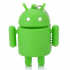 Cute Android Robot Style USB Flash/Jump Drive - Green (8GB)
