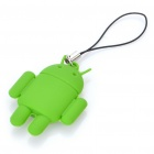 Nette Android Robot Stil Cell Phone Strap - Green