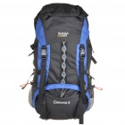 In-way Travel Backpack Double-Shoulder Bag - Big (Blue + Black)