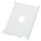 Mesh Protective PC Plastic Back Case for Ipad 2 - White