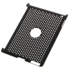 Mesh Protective PC Plastic Back Case for iPad 2 - Black