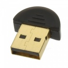 Mini Bluetooth 4.0 Dongle USB - Negro + Oro