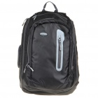 In-way Travel Backpack Double-Shoulder Bag for Laptop - Black