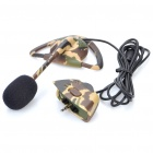 Hook Style Earphones with Microphone for Xbox 360 - Camouflaged (2.5mm Jack / 118CM Cable)