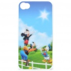 Protective PC Back Case with 3D Graphic for iPhone 4 - Disney