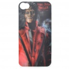 Protective PC Back Case with 3D Graphic for iPhone 4 - Michael Jackson