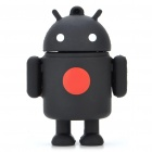 Cute Google Android Robot Style USB Flash/Jump Drive - Black (4GB)