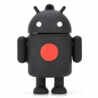 Cute Google Android Robot Style USB Flash/Jump Drive - Black (8GB)