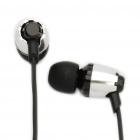 Designer's In-Ear Stereo Earphones with Microphone - Color Assorted (3.5mm Jack/110CM-Cable)