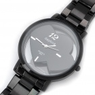 DayBird Hearts Style Stainless Steel Quartz Wrist Watch - Black (1 x LR626)