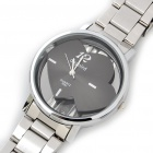 DayBird Hearts Style Stainless Steel Quartz Wrist Watch - Silver (1 x LR626)