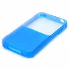 Designer's Protective Back Case for iPhone 4 - Blue