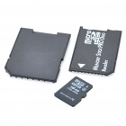 Designer's Micro SD/TF Card with SD + MS Card Adapters (16GB)