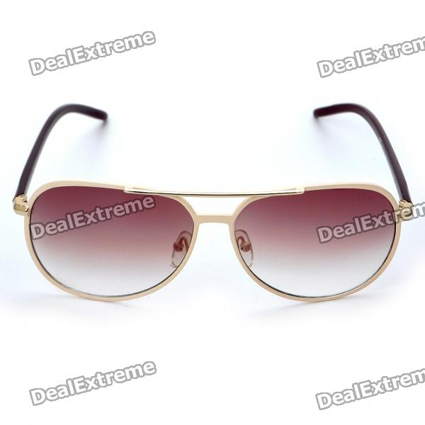 Fashion Sports UV400 UV Protection Metal Frame Resin Lens Sunglasses fashion uv400 protection round shape resin lens sunglasses wine red