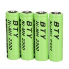 BTY 2300mAh Ni-MH AA Batteries (4-Pack)