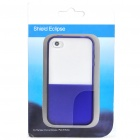 Designer's Protective Back Case for iPhone 4 - Deep Blue