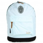 In-way Travel Backpack Double-Shoulder Bag - Light Blue