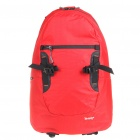 In-way Travel Backpack Double-Shoulder Bag - Red