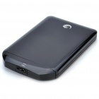 Genuine Seagate USB 3.0 Mobile External Hard Drive Storage Device - Black (500GB)