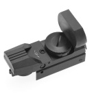 Metall Tactical 4-Absehen Sight Scope mit Gun Mount (1 x CR2032)