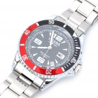 Fashion Auto Mechanical Steel Wrist Watch with Date Display