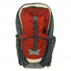 In-way Outdoor Travel Backpack Double-Shoulder Bag w/ Water Bag Pocket + Whistle - Random Color
