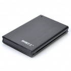 "2.5"" SATA USB 2.0 HDD Enclosure with Carrying Pouch - Black"