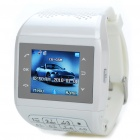"1.3"" Touch Screen Wrist Watch Style Quadband GSM Cell Phone - White"