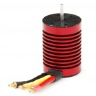 9T 4420KV Sensorless Brushless Motor for 1:10 / 1:12 Car Toy - Red