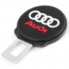 Audi Logo Pattern Seat Belt Buckle Latch