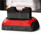 "All-in-1 Dual-HDD-Dockingstation Mit One-Touch-Backup Für 2,5 ""/ 3,5\"" SATA-Festplatten"