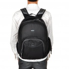 In-way Professional Laptop Bag Travel Backpack Double-Shoulder Bag - Black