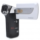 "HD 720P 3D/2D 3.2"" Color LCD 5.0 MP Digital Camera Camcorder with LED Light/HDMI/SD/AV-Out"