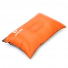 Leou Inflatable Travel Camping Air Pillow Cushion - Orange