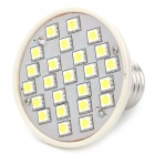 E27 4W 24 x SMD 5050 LED 432Lumen 6000-6500K White LED Spotlight Bulb (220V)