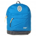 In-Way Outdoor Sports Lightweight Backpack Double-Shoulder Bag - Blue