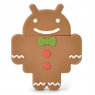 Cute Google Android Robot Style USB Flash/Jump Drive - Gingerbread (4GB)