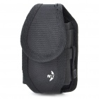 Nite Ize Nylon Mobile Cell Phone Storage Carrying Bag with Clip - Black