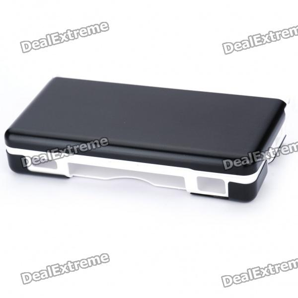 Protective Plastic Case with Aluminum Cover for NDSL - Black