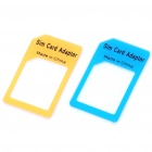 Micro Sim Card to Standard Sim Card Adapter (2-Piece)