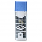 USB 2.0 2.4GHz 802.11b/g 54Mbps WiFi Wireless Network Adapter - Silver + Blue