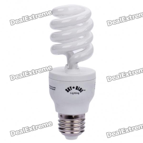E27 15W 875lm Negative Ion Air Purifier Cool White Light Bulb