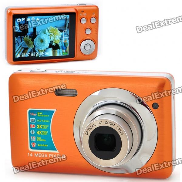"2.7"" TFT LCD 5MP CMOS Compact Digital Video Camera with 4X Digital Zoom/SD Slot"