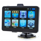 "5"" Touch Screen LCD WinCE 5.0 GPS Navigator w/ FM + Internal 2GB Brazil Map"