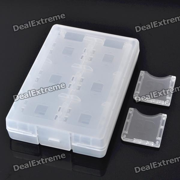 24-in-1 Protective Plastic Game Card Cartridge Case for Nintendo 3DS