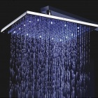 10inch LED Color Changing Square Shower Head