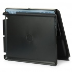 2.4GHz Bluetooth V2.0 Wireless 80-Key Keyboard w/ Rotatable Case Holder for iPad 2 - Black